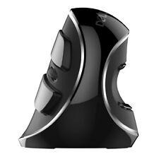 Delux M618 Plus Vertical Ergonomic Computer Mouse Wireless 2.4ghz for Laptop FZC