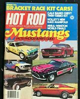HOT ROD Magazine - December 1978 - Special MUSTANG Issue