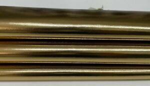 METALLIC OLD GOLD Brass SMOOTH Italian Lambskin leather skin skins 7sqf 0.8mm