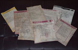 64-87 Oldsmobile 442, Cutlass, Cutlass Supreme, SX Reproduction Window Stickers