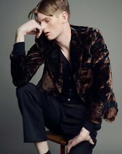 $3990 NEW Gucci Runway Velvet Floral DANDY Evening Jacket, 52R/US 42R, #296848