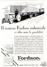 FORD-trattore FORDSON-treno-convoglio-TRIESTE-1930.