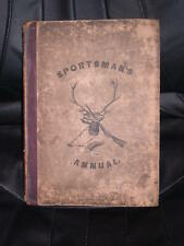 VERY RARE DOG BOOK SPORTSMAN'S ANNUAL DOGS 1ST 1836