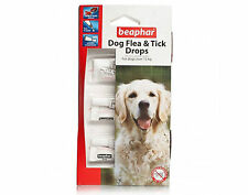 Beaphar Dog Flea And Tick Drops   For Large Dogs Over 15Kg 12 Week Pack