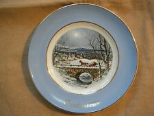 """Dashing Through The Snow""~ 7Th Ed. Avon Collectible Plate"