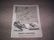 Vintage Snowmobile Polaris 1988 Star Sprint ES Parts Manual Original Not A Copy