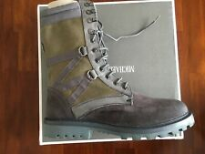 "MICHAEL BASTIAN  THE MB COMBAT ULTRA FORCE GREY  HIGH BOOTS"" (SIZE 10M) $ 295"