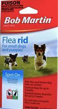 Bob Martin Spot on Flea RID for Small Dogs & Puppies 3 X 1.0 Ml Pipettes