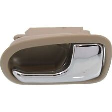MAZDA 626 and Protege 93-03 Front and Rear Inner Door Handle Chrome and Beige RH