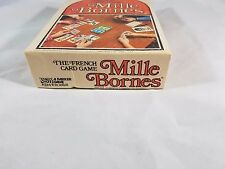 Vintage 1964 French Playing Cards Automotive Game Mille Bornes Complete