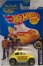 Hot Wheels a medida VOLKSWAGEN BAJA BUG THE BEATLES YELLOW SUBMARINE Real Riders