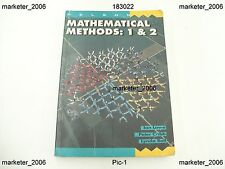 MATHEMATICAL METHODS 1 & 2 LOWE CRIBB BALL 1ST ED THOMAS NELSON 1994