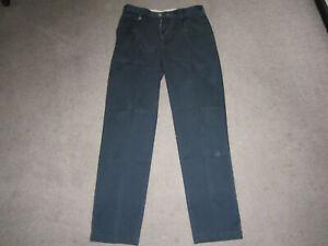 Navy blue Chinos Men's pleated worn twice  Size: 32w x 32.5