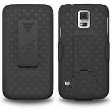 Samsung Galaxy S5 Shell Holster Combo Case with Clipstand & Belt Clip