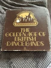 The Golden Age Of British Dance Bands Vinyl 8 LP Compilation World Records 1975