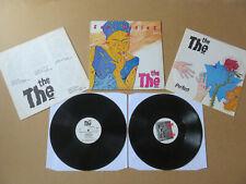 """THE THE Soul Mining UK 1ST PRESS LP & BONUS 12"""" EPC25525 / XPR1250 MATT JOHNSON"""