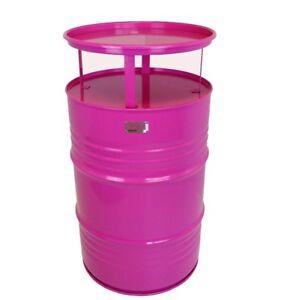 Fassmöbel Stehtisch Tisch Design Partytisch Bistrotisch Pink Ø 57cm Höhe 108cm