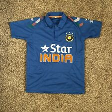 India Cricket Team Blue Jersey Star BCCI Youth Kids Size 36 (4 Y/O)