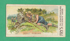 J. S. FRY & SONS LTD.  -  RARE  BOY  SCOUT  SERIES  CARD  -  NO.  5  -  1912
