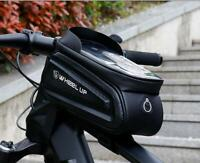 Bicycle Cycling Bike Front Top Tube Frame Bag Waterproof Phone Holder Case Box
