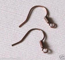 Bulk 500 Antiqued Copper fish Hook Ear wires 17mm x 15mm