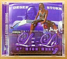 "Le-Lo Like New CD Single - 6"" High Heelz Da' Sh!t - Dallas TX Rap Heels Shit The"