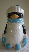 """Vintage Chilly Willy McCoy Cookie Jar Penguin #155 11.75"""" Tall 8"""" Wide"""