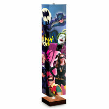 Bradford Exchange Batman Floor Lamp With Colorful Graphics From The Tv Series