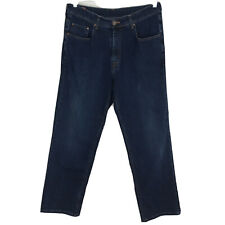 Faconnable - F40 CLASSIC Fit Straight Leg STRETCH Dark Blue Jeans - Mens Size 38