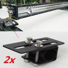 2x Car Roof Rack Light Bracket Holder Bumper Mounting Kit for LED Work Light Bar
