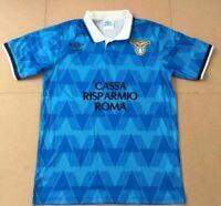 Maglia Lazio 1989 - Calcio Vintage Retro Immobile Lulic Milinkovic Acerbi Correa