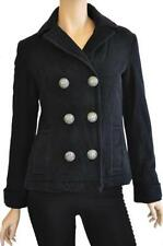Polyester Casual Regular Size Peacoat for Women