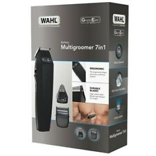 Wahl Battery 7 in 1 Body Face Hair Trimmer Clipper Shaver Grooming Kit 5537-7417