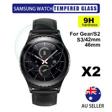 2X Tempered Glass Screen Protector Samsung Galaxy Gear Watch S2/S3/S4/ 42/46mm