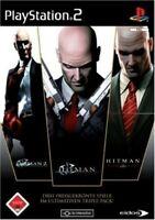 PS2 / Sony Playstation 2 Spiel - Hitman: Triple Pack DEUTSCH mit OVP
