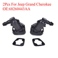 2X Windshield Wiper Washer Sprayer Nozzle For Jeep Grand Cherokee 68260443A  SL