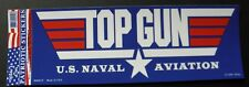 US Navy Top Gun Naval Aviation USN made in the USA 9.75 x 3.5 inches
