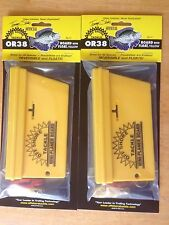 2 Pk OR-38 Off Shore Tackle Mini Planer Board with Float (NEW)
