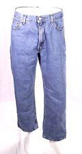 BJ9-22 Levis 550 Herren Jeans blau W36 L29 relaxed fit tapered leg Zip Fly