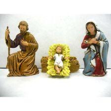 Natività 3 Pezzi Landi Moranduzzo CM 8 - Sacra Famiglia Pastori Presepe