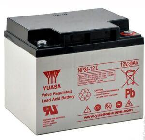 Genuine YUASA NP38-12I  12v  38Ah Lead Acid Battery Sealed New