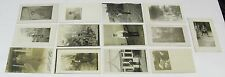 1900's 1910's 1920's RPPC PHOTO Post Card Lot ~ MEN, 13 Postcards, Free Shipping