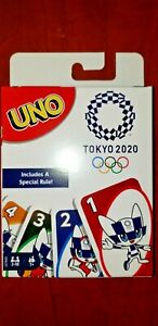 Uno Tokyo 2020 Olympics Includes Special Rule - Limited Edition HTF