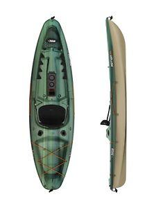 Fishing Kayak -Pelican Kayak Motion 100X Angler Fade Black Green/Light Khaki