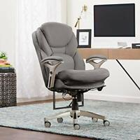 Serta Ergonomic Executive Office Chair Motion Technology Adjustable Mid Back Des
