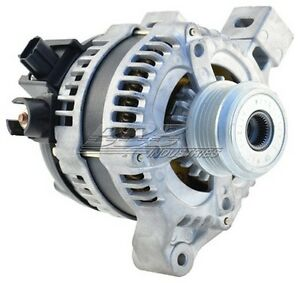ALTERNATOR (11093) FITS 2004 VOLVO S40/150AMP WITH 5-GROOVE CLUTCH PULLEY