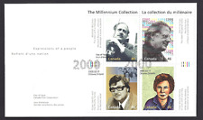 Canada    FDC  # 1829    GREAT THINKERS   2000  46c   New Fresh Unaddressed