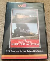 Union Pacific Super Cabs And Steam DVD WB Video Productions