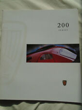 1996 ROVER 200 SERIES INTRODUCTION BROCHURE