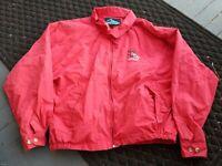 Vintage SCRANTON Wilkes-Barre RED BARONS MINOR LEAGUE STAFF Baseball Jacket XL b